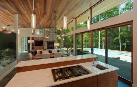 Modern Kitchen Design Lake Norman
