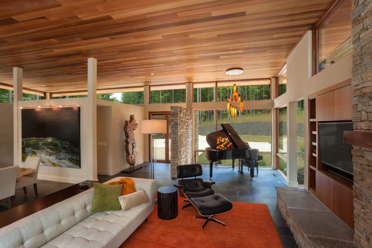 Lake Norman Modern Retreat Gallery Artistic