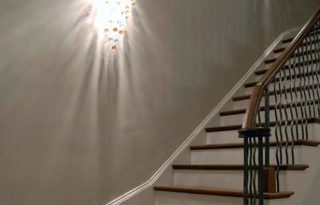 Transitional Staircase Providence Plantation