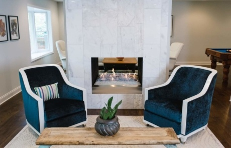 Two Way Fireplace South Park Charlotte