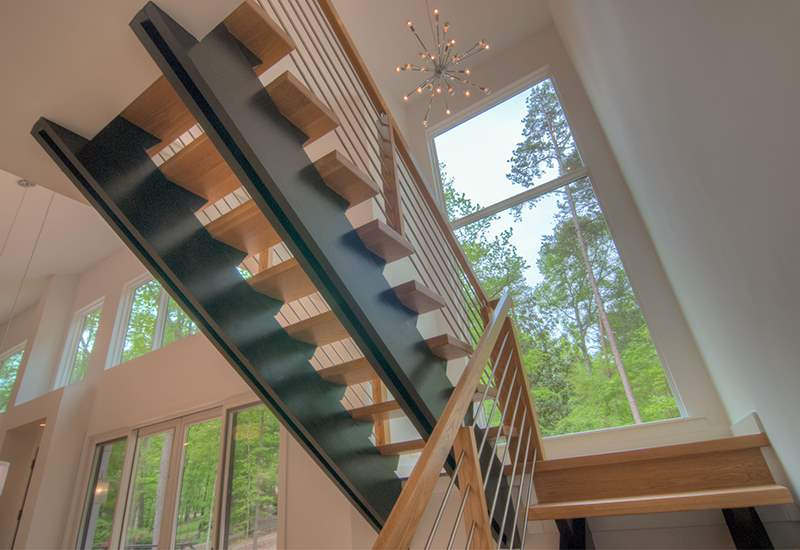 View Larger Image Floating Stairs By Artistic Contractors