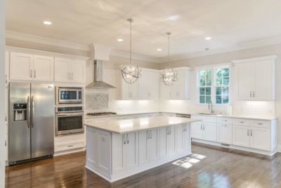 Open Concept Kitchen Design Plaza Midwood