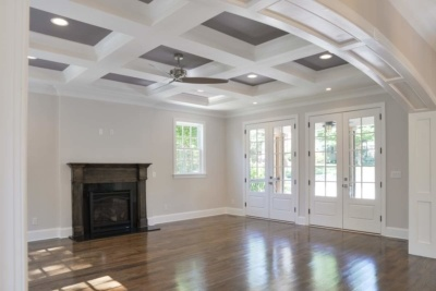 Coffered Ceiling Plaza Midwood