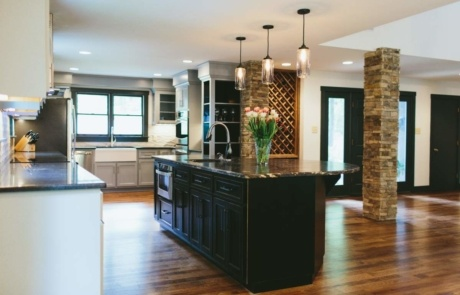 Kitchen Island Design Charlotte