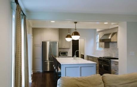 Open Floor Plan Kitchen Charlotte NC