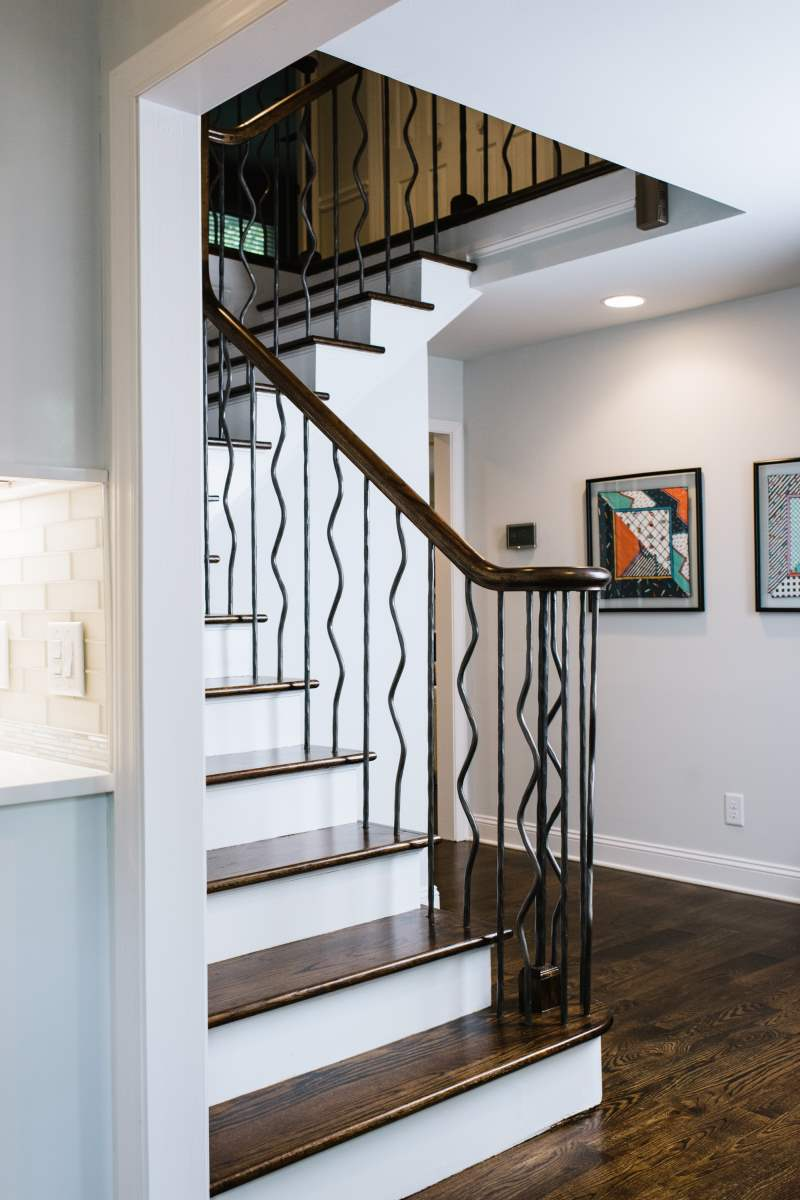 Modern Wrought Iron Railing South Park Charlotte