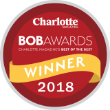 Charlotte Magazine 2018 BOB Award Winner