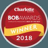 Charlotte Magazine BOB Award Winner