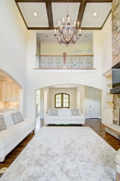 Tega Cay Tudor Enclave Living Room & Entry