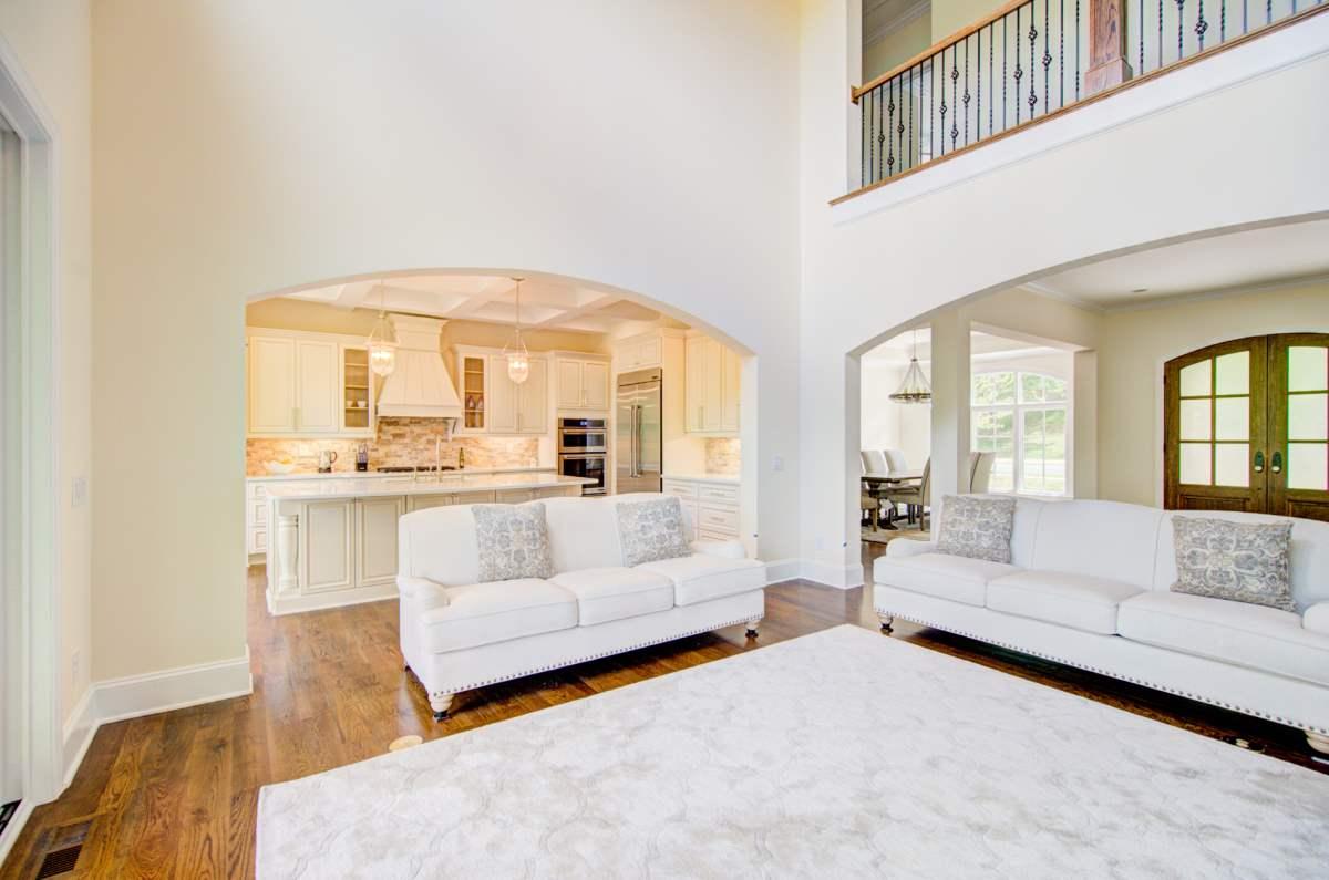 Tega Cay Tudor Enclave Living Room