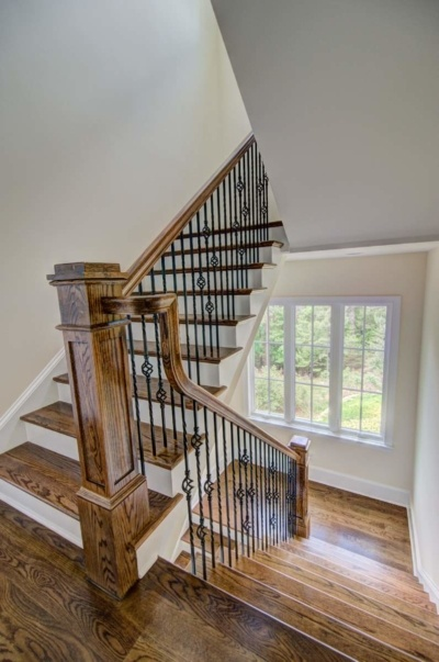 Tega Cay Tudor Enclave Coffered Stair Railing