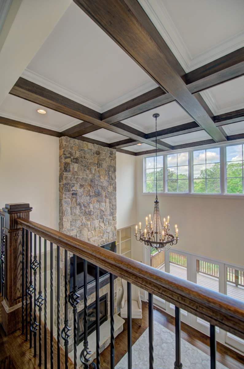 Tega Cay Tudor Enclave Coffered Ceiling