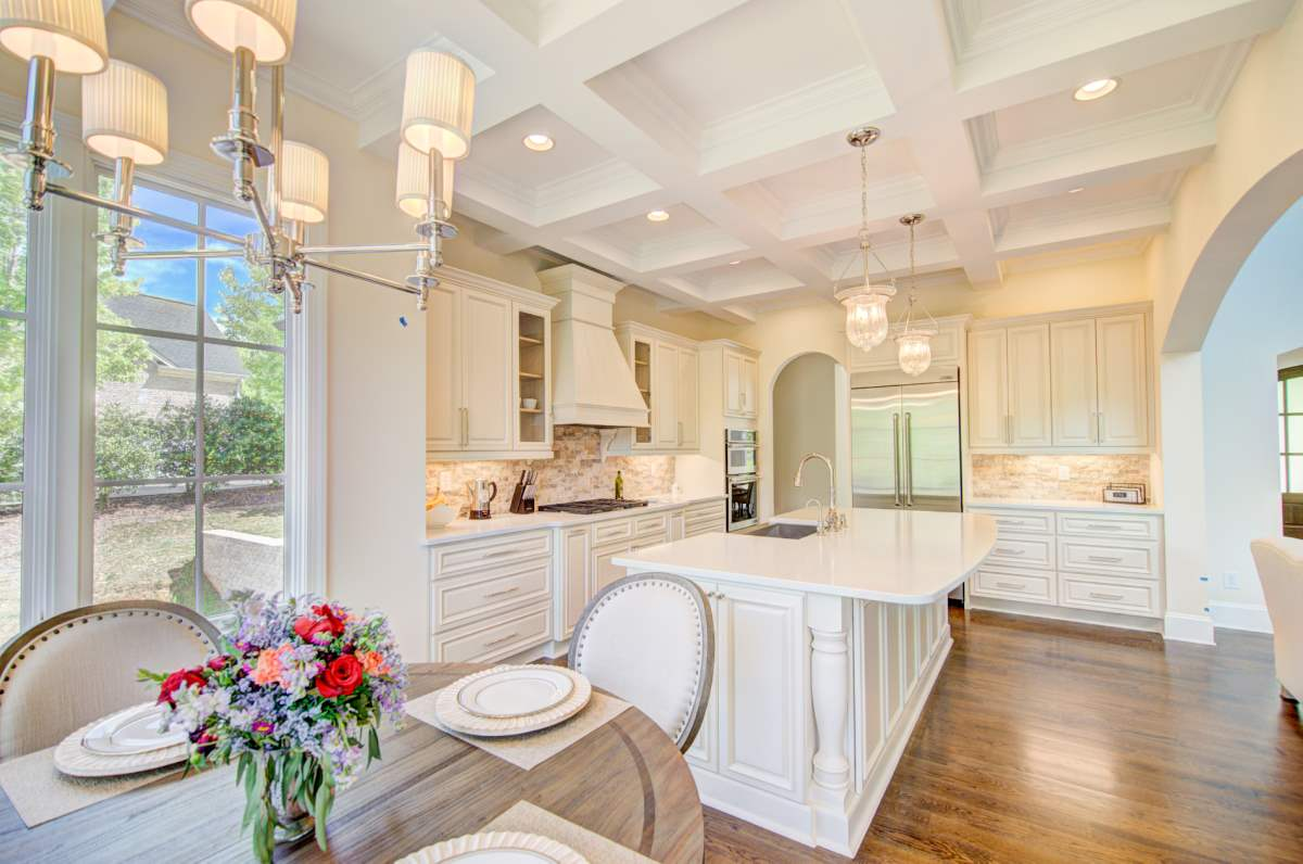 Tega Cay Tudor Enclave Kitchen & Breakfast Nook