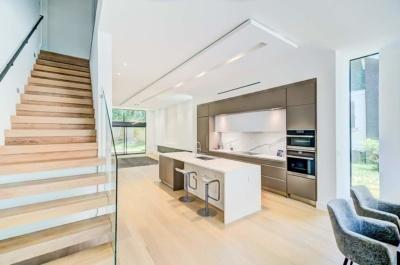 Urban Modern Sanctuary Stairs Up