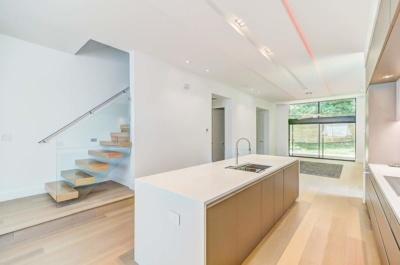 Urban Modern Sanctuary Quartz Countertops & Cabinets