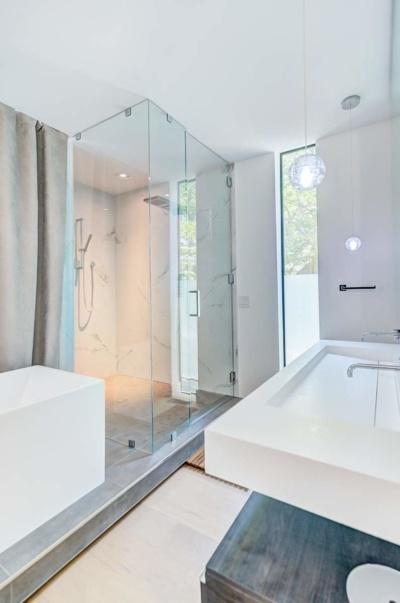 Urban Modern Sanctuary Master Bathroom Shower