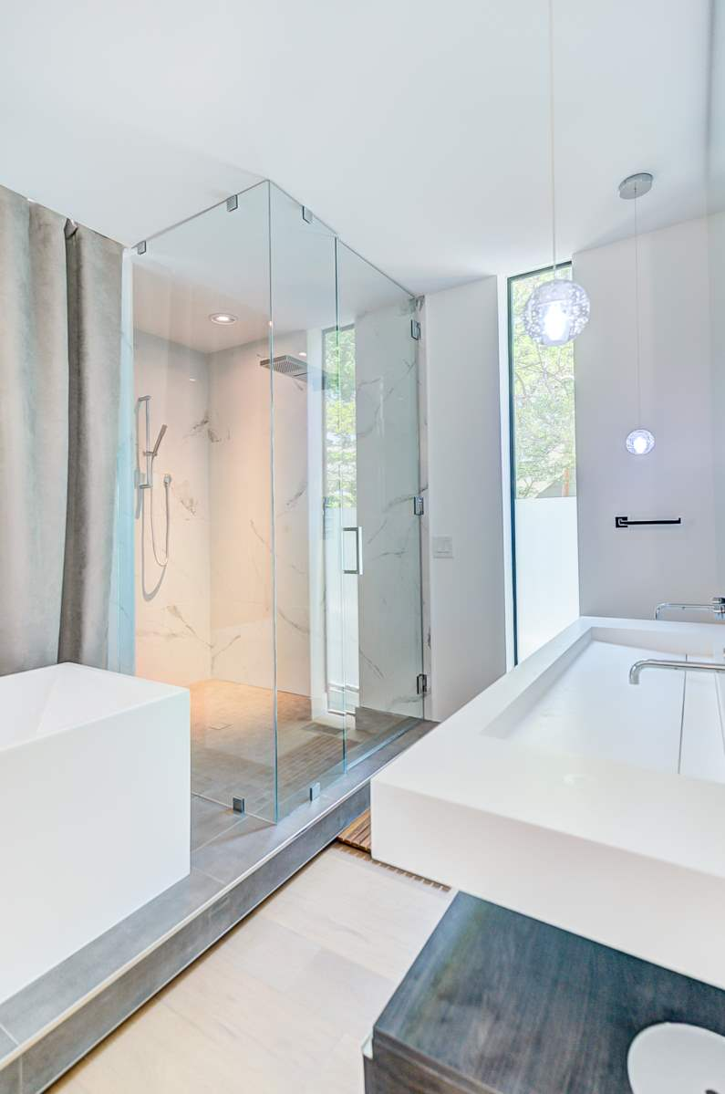 Urban Modern Sanctuary Master Bathroom Shower