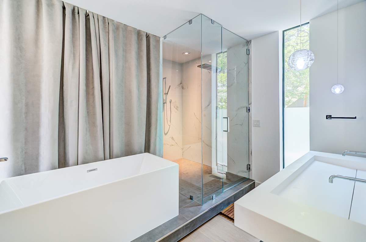 Urban Modern Sanctuary Master Bathroom