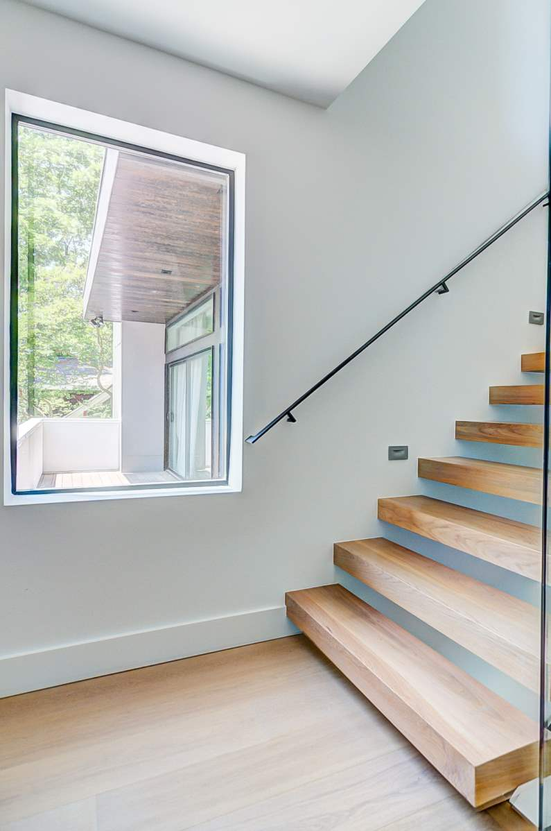 Urban Modern Sanctuary Stairway